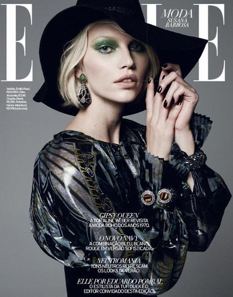 Aline Weber by Bob Wolfenson for Elle Brazil February 2013 5