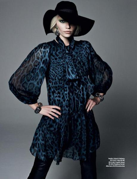 Aline Weber by Bob Wolfenson for Elle Brazil February 2013 2