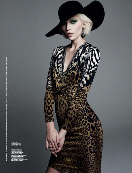 Aline Weber by Bob Wolfenson for Elle Brazil February 2013 3