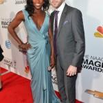 Rutina Wesley and Jacob Fishel NAACP Awards 2013 Alberto E. Rodriguez Getty 2