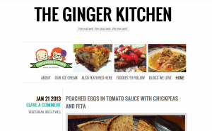 Indiana Blogs: The Ginger Kitchen