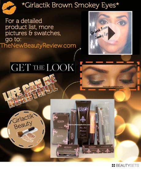 Beautysets - Girlactik Smokey Brown Eyes