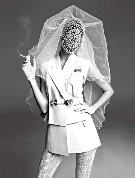 Kati Nescher by Inez & Vinoodh for Vogue Paris November 2012
