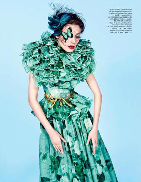 Kati Nescher by Inez & Vinoodh for Vogue Paris November 2012 3