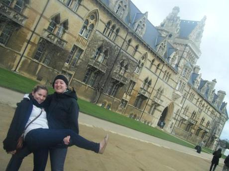 Kate and I in Oxford