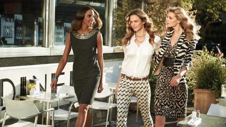 Julia Stegner, Elise Crombez and Noemie Lenoir for Jones New York Spring 2013 Campaign by Mark Seliger2