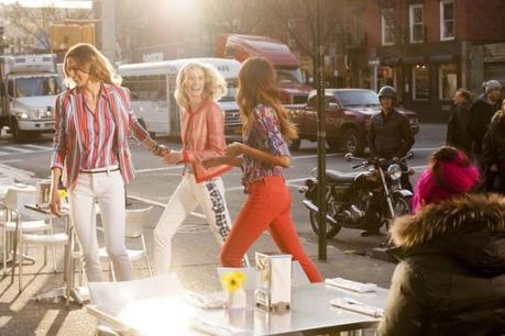 Julia Stegner, Elise Crombez and Noemie Lenoir for Jones New York Spring 2013 Campaign by Mark Seliger5