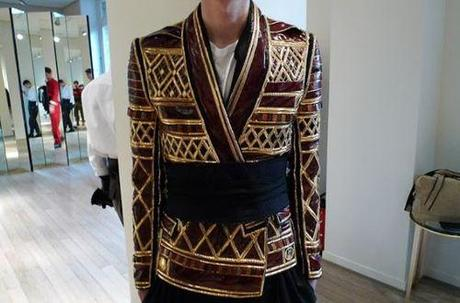 Balmain Fall/Winter 2013 Showroom Preview View complete looks...