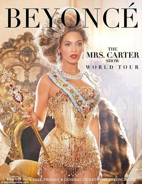 Beyoncé Announces 'The Mrs. Carter Show World Tour'...
