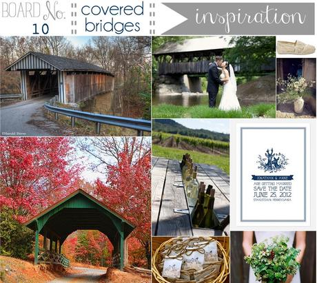 {inspiration board} No.10 covered bridges