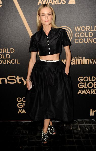 Diane Kruger Shines at HFPA & In Style 2013 Golden Globe Party