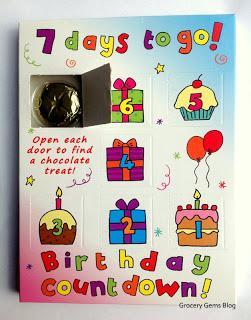 7 DAYS TO GO Chocolate Countdown Calendar Review