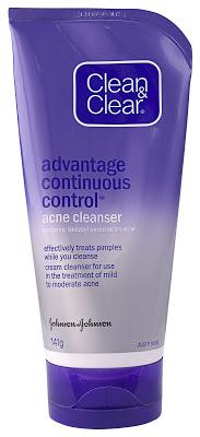 Clean & Clear Advantage Continuous Control Cleanser