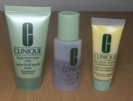 Clinique 3 Step Skin Care For Dry / Combination Skin Review