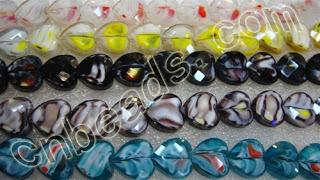 2013 new crystal beads - China cut millefiori crystal beads