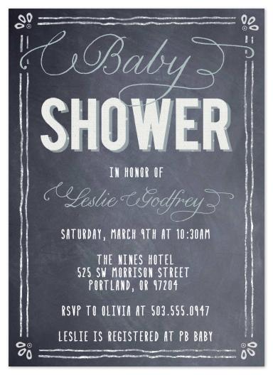 New Baby Shower Invitations