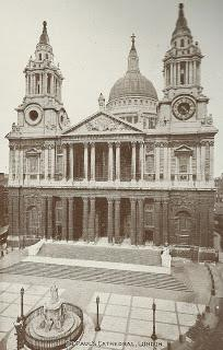 St Paul's Cathedral old and new