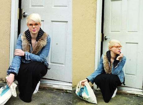 Fleur d'Elise, Seattle, casual style, short blonde hair