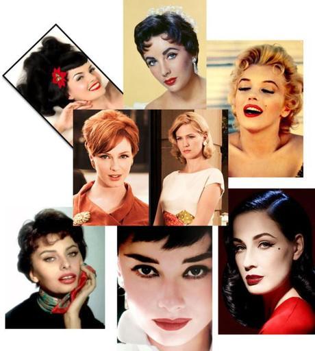 50's Inspired Wedding Makeup