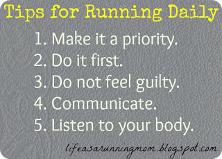 My 5 Tips for Running Daily
