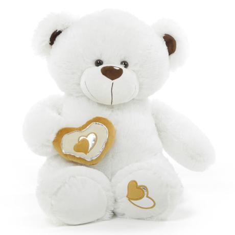 teddy bear white velentine