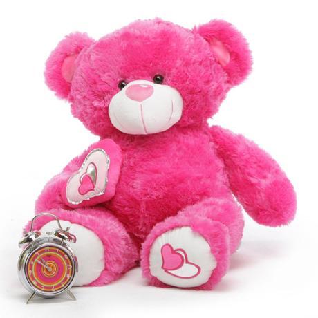 teddy bear pink velentine