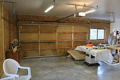 Workshop North wall.
