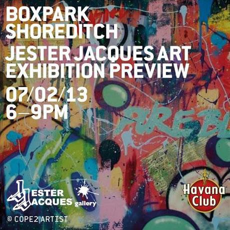 Jester Jacques Gallery Box Park Pop Up Shop