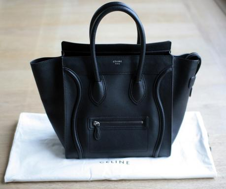 The one and only Celine Luggage Mini in black