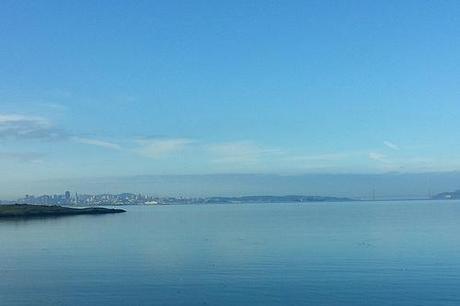 SF Bay Trail city view