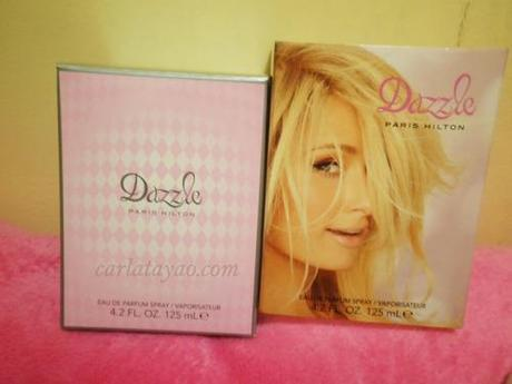 Sweet yet sexy scent of Paris Hilton : DAZZLE