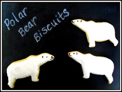 Ta-dah! Tuesday - Polar Bear Biscuits