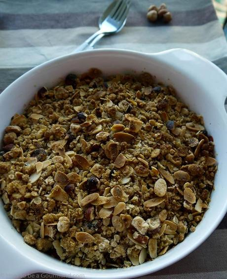 Crumble - typically Brtish Pudding of comfort