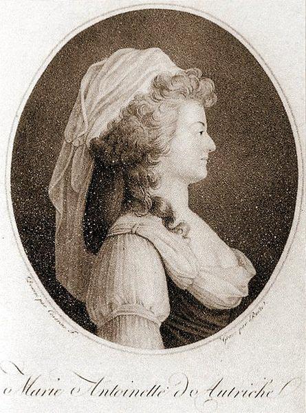Marie Antoinette as she dressed at Hameau de la reinea