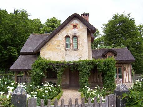 Marie Antoinette's estate gardens - the housekeeper's cottage  - Palace of Versailles - France