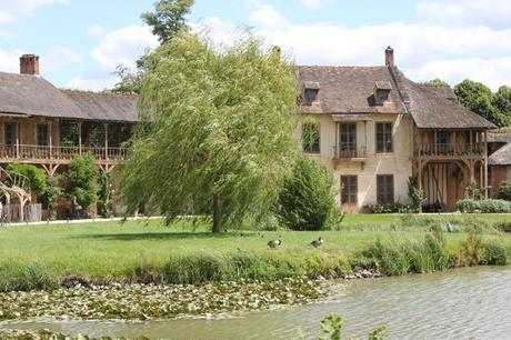 Marie Antoinette's estate gardens - Queens House - Palace of Versailles- France