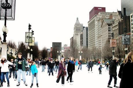 Chicago - Skating in Millennium Park - Paperblog