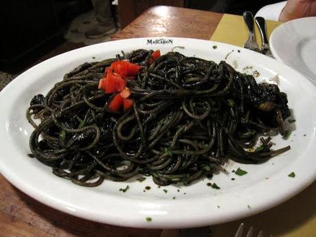 Italian Squid Ink Pasta