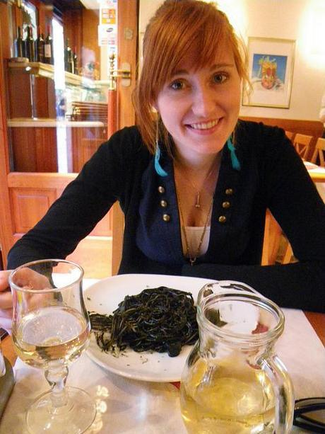 Black Squid Ink Spaghetti