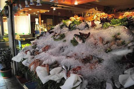 Fresh Fish outside Restaurants