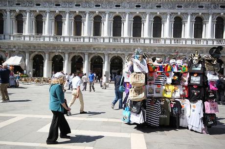 San Marco Tourist Booths