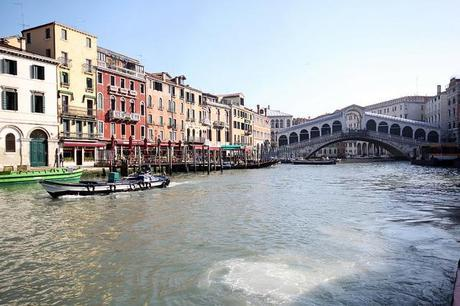 Rialto Bridge and the Grand Canal