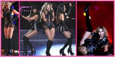 tuesday shoesady kelly rowland beyonce knowles michelle williams shoes high heels boots half time show superbowlk 2013