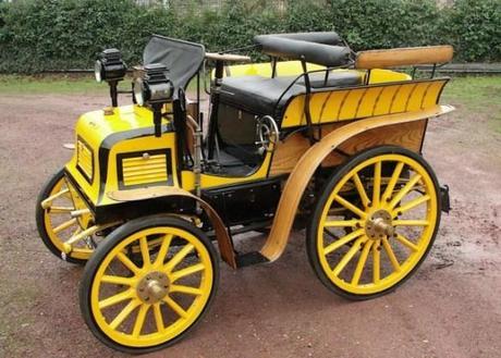1898 Fisson 8HP 3-Litre Tonneau