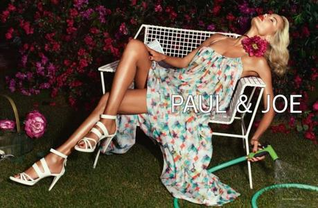 Carolyn Murphy by Mikael Jansson for Paul & Joe Spring 2013 Campaign