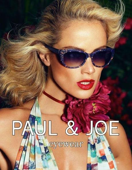 Carolyn Murphy by Mikael Jansson for Paul & Joe Spring 2013 Campaign 3