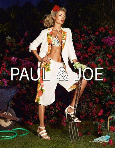 Carolyn Murphy by Mikael Jansson for Paul & Joe Spring 2013 Campaign 4