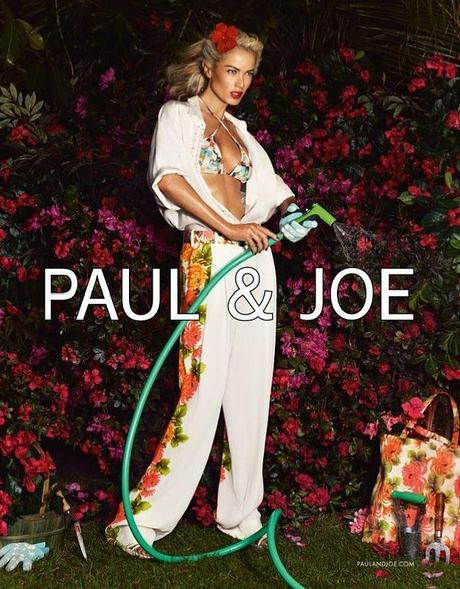 Carolyn Murphy by Mikael Jansson for Paul & Joe Spring 2013 Campaign 5