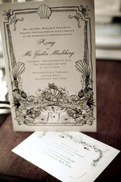 Wedding Invite Photo