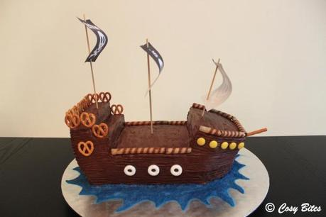 Pirate Ship Cake With Hershey S Chocolate Cake Recipe